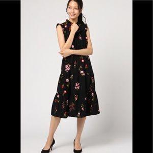 Kate Spade  in bloom smocked waist dress